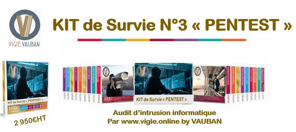 """Kit de survie """"PENTEST"""""""