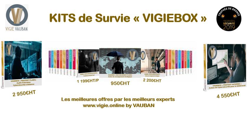 """Présnetation du kit de survie """"VIGIEBOX"""""""